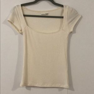 Reformation ivory top